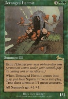 Urza's Legacy Foil: Deranged Hermit