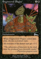 Urza's Legacy Foil: Engineered Plague