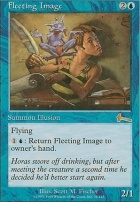 Urza's Legacy Foil: Fleeting Image
