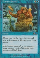 Urza's Legacy Foil: Frantic Search