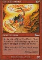 Urza's Legacy Foil: Ghitu Fire-Eater