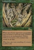 Urza's Legacy Foil: Hidden Gibbons