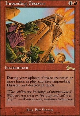 Urza's Legacy: Impending Disaster