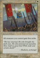 Urza's Legacy Foil: Knighthood