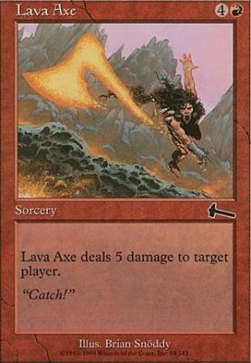 Urza's Legacy: Lava Axe