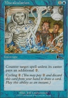 Urza's Legacy Foil: Miscalculation
