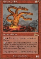 Urza's Legacy Foil: Molten Hydra