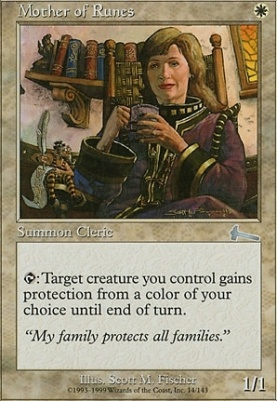 Urza's Legacy: Mother of Runes