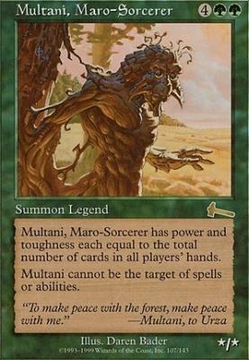 Urza's Legacy: Multani, Maro-Sorcerer