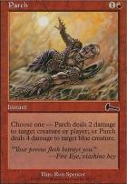 Urza's Legacy Foil: Parch