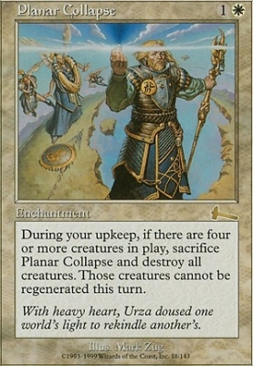 Urza's Legacy Foil: Planar Collapse