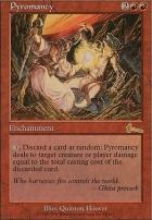 Urza's Legacy Foil: Pyromancy