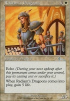 Urza's Legacy Foil: Radiant's Dragoons