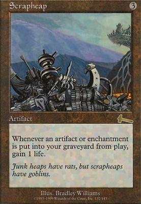 Urza's Legacy Foil: Scrapheap