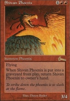 Urza's Legacy Foil: Shivan Phoenix