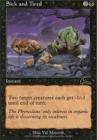 Urza's Legacy Foil: Sick and Tired