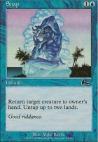 Urza's Legacy Foil: Snap