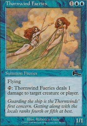 Urza's Legacy: Thornwind Faeries