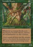 Urza's Legacy Foil: Treefolk Mystic