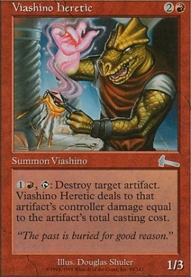 Urza's Legacy: Viashino Heretic
