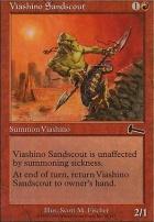 Urza's Legacy Foil: Viashino Sandscout