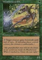 Urza's Legacy: Weatherseed Elf