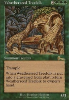 Urza's Legacy: Weatherseed Treefolk