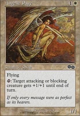 Urza's Saga: Angelic Page