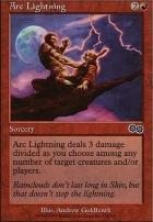 Urza's Saga: Arc Lightning
