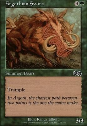 Urza's Saga: Argothian Swine