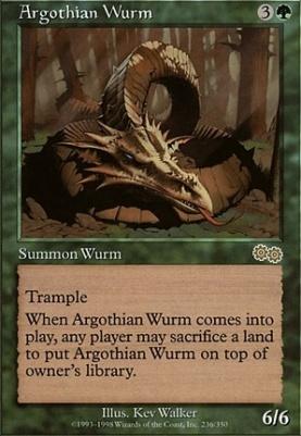 Urza's Saga: Argothian Wurm