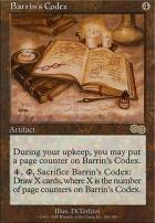 Urza's Saga: Barrin's Codex