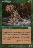 Urza's Saga: Bull Hippo