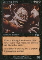 Urza's Saga: Cackling Fiend