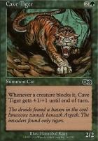 Urza's Saga: Cave Tiger
