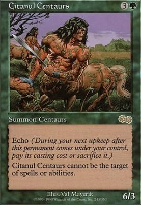 Urza's Saga: Citanul Centaurs