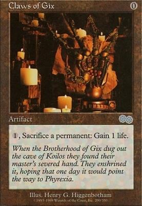 Urza's Saga: Claws of Gix