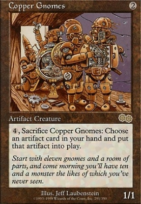 Urza's Saga: Copper Gnomes