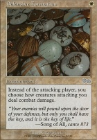 Urza's Saga: Defensive Formation