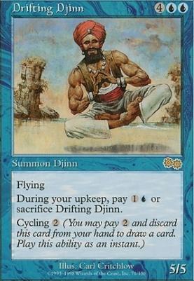 Urza's Saga: Drifting Djinn