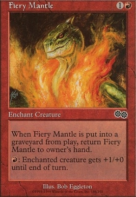 Urza's Saga: Fiery Mantle