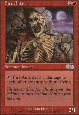 Urza's Saga: Fire Ants