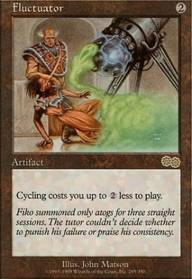 Urza's Saga: Fluctuator