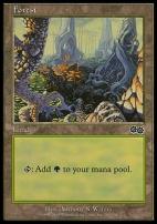 Urza's Saga: Forest (349 C)