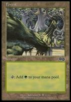 Urza's Saga: Forest (350 D)