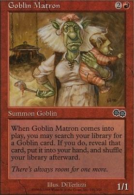 Urza's Saga: Goblin Matron