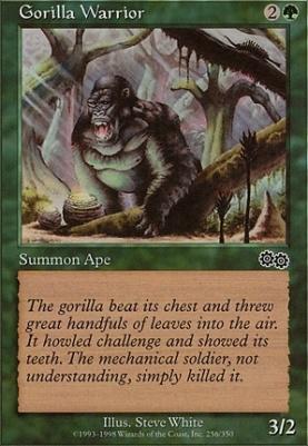 Urza's Saga: Gorilla Warrior