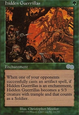 Urza's Saga: Hidden Guerrillas