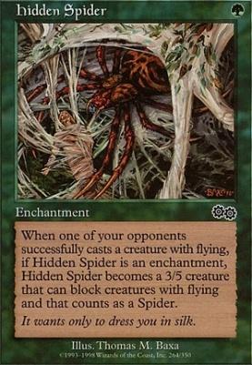 Urza's Saga: Hidden Spider