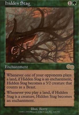 Urza's Saga: Hidden Stag